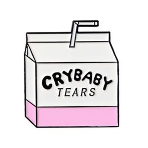 4/$20~~Cry Baby Tears Tac Pin